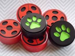 Lembrancinhas Festa Ladybug: latinha para balas