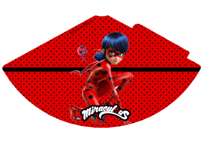 Kit Festa Ladybug para editar e imprimir grátis