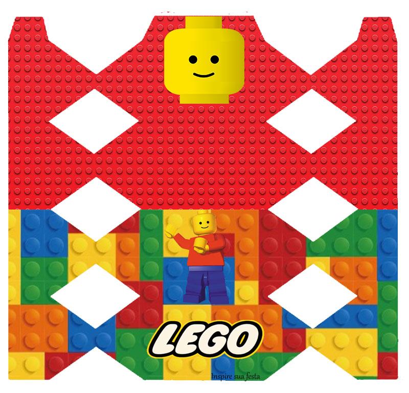 Kit Festa Lego para imprimir para embalagem de bombom