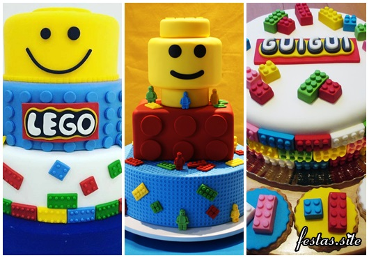 Fotos de Bolo Lego Decorado