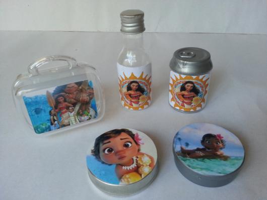 Lembrancinhas Moana Simples kit personalizados