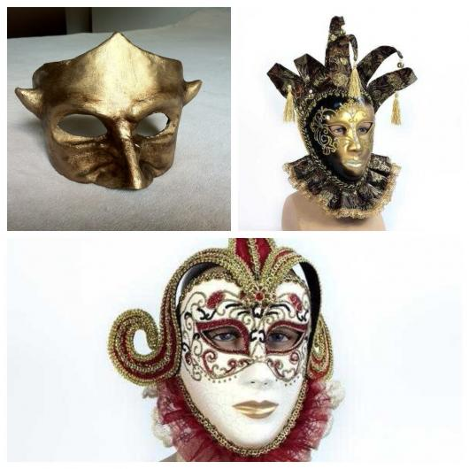 máscaras para baile
