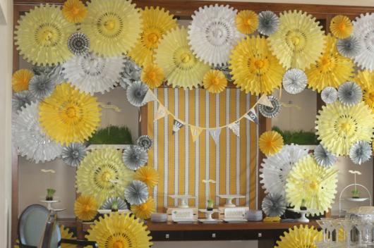 Painel De Flores De Papel 40 Decora 231 245 Es Lind 237 Ssimas Para