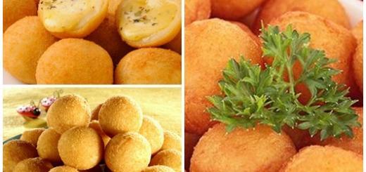 Receitas de Salgadinhos para Festa bolinha de queijo