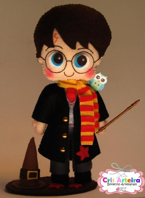 topo para bolo Harry Potter
