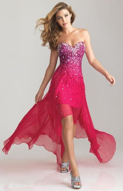 vestido de debutante rosa pink com pedrarias