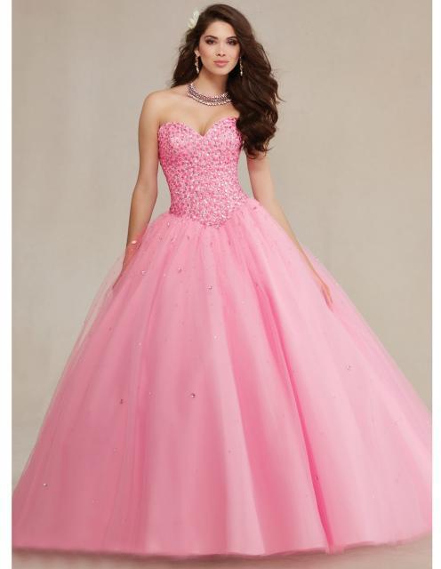 dicas para escolher vestido de debutante rosa
