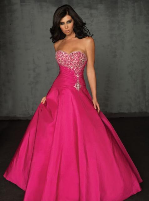 vestido de debutante rosa longo com saia lisa