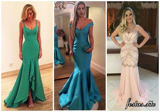vestido de festa longo modelos