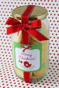 Potinhos de Vidro para lembrancinhas para Natal.
