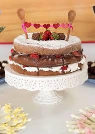 Bolo de Chá de Panela naked cake