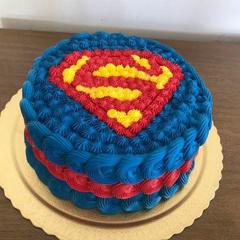 Bolo Super Homem 30 Modelos Decorados E Simplesmente Adoráveis