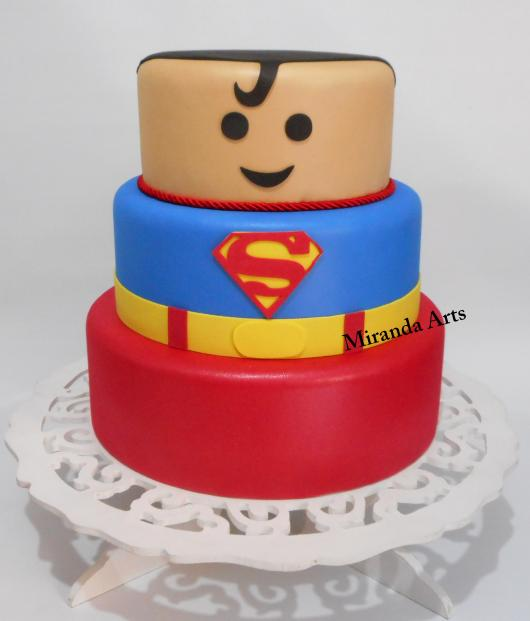 bolo Super-Homem