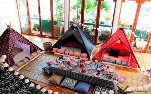 cabanas festa do pijama