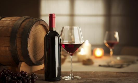 O que colocar na Caixa dos 5 Sentidos paladar vinho tinto