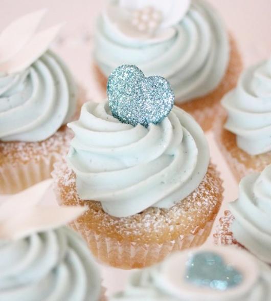 Como Fazer Lembrancinhas de Casamento cupcake decorado com doce de leite