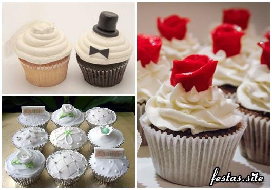Como Fazer Lembrancinhas de Casamento cupcake de casamento