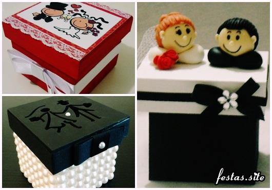 Como Fazer Lembrancinhas de Casamento caixinha de MDF personalizada