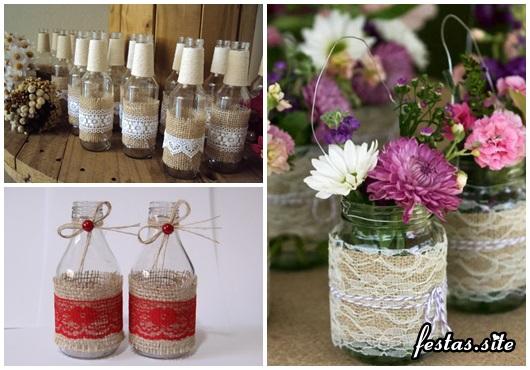 Como Fazer Lembrancinhas de Casamento vidro personalizado