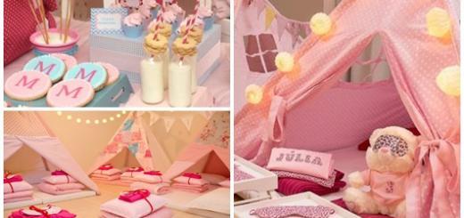 Como Fazer uma Festa do Pijama decoração