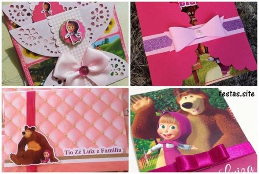 modelos em cor de rosa
