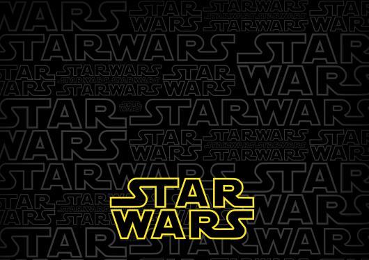 arte pronta para convite star wars