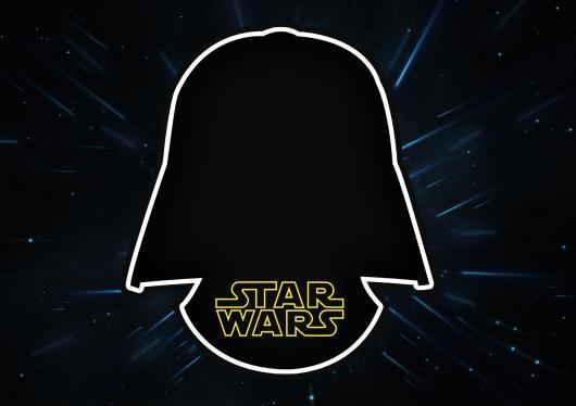 convite star wars para imprimir
