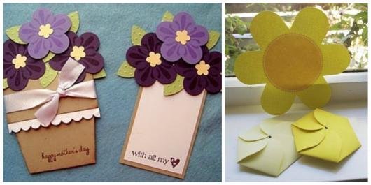 Convites Jardim Encantado Criativos em formato de vaso com flor