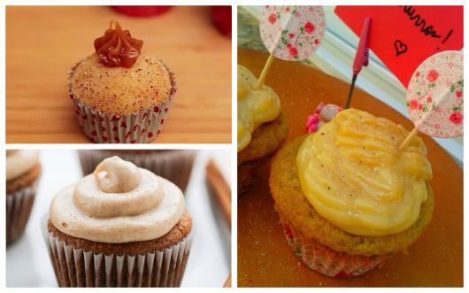 ideias de cupcake de churros