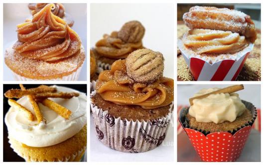 dicas de cupcake de churros