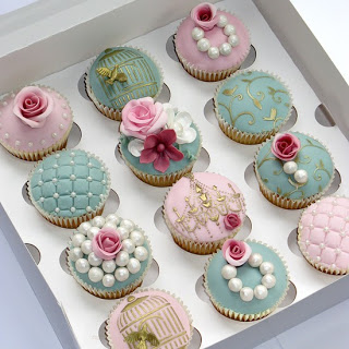 Cupcake para Casamento com pérolas