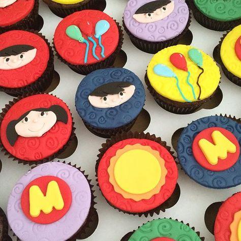 cupcake Show da Luna decoração