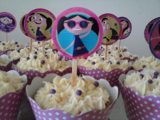 cupcake Show da Luna personalizado
