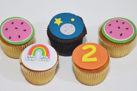 cupcake Show da Luna simples