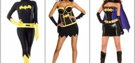 Fantasia Batgirl com salto