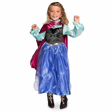 Fantasia da Frozen personagem Anna com bota