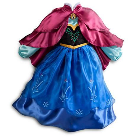 Fantasia da Frozen personagem Anna de luxo