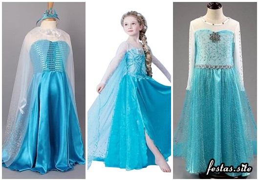 Fantasia da Frozen modelos