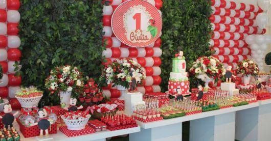 festa da joaninha para crianças de 1 ano