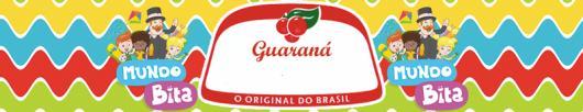 Kit Festa Mundo Bita para imprimir: rótulo de refrigerante