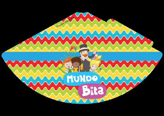 Kit Festa Mundo Bita para imprimir: chapeuzinho