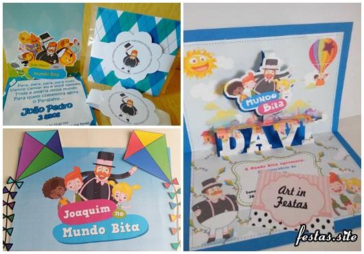 Festa Mundo Bita convites