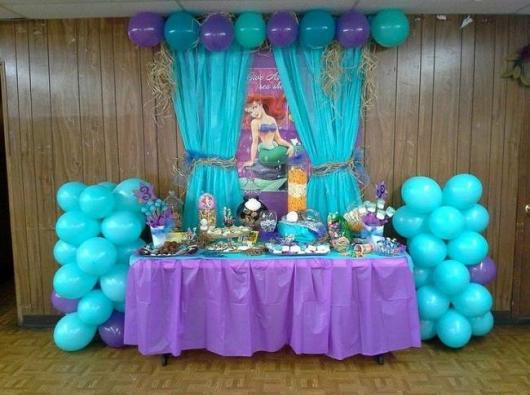 Festa Pequena Sereia Ariel 40 Dicas Com Inspira 231 245 Es