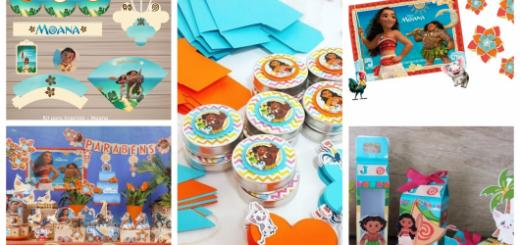 ideias de kit festa moana