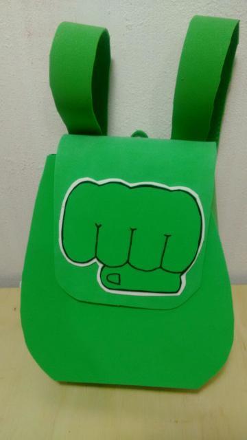 mochila de EVA