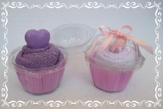 Lembrancinhas Fáceis de Fazer para chá de bebê cupcake personalizado
