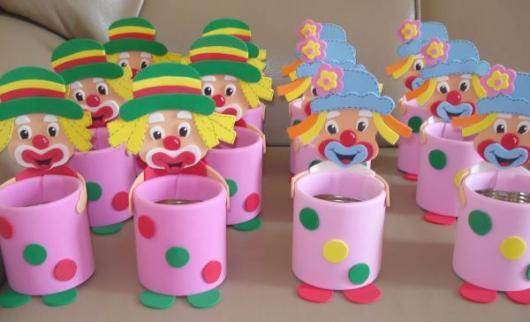 Lembrancinhas Fáceis de Fazer para festa infantil porta trecos Patatá Patata
