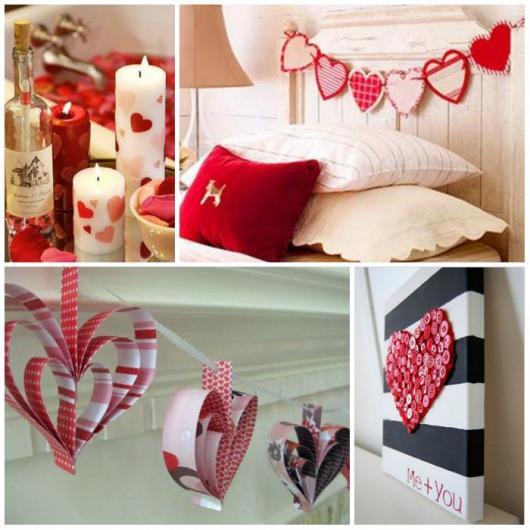 Lembrancinhas Fáceis de Fazer para namorado decoração de quarto romântica