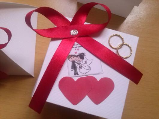 Lembrancinhas Fáceis de Fazer para casamento caixa de MDF personalizada