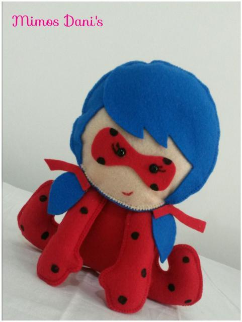Lembrancinhas Ladybug em feltro mini Ladybug